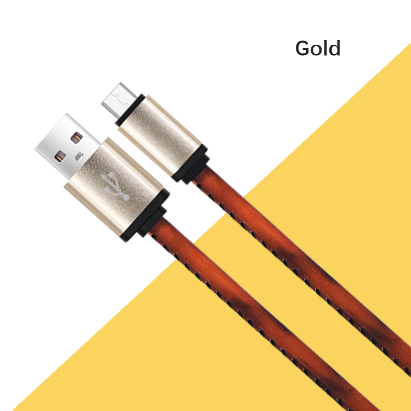 Leder usb-kabel ladekabel für iphone
