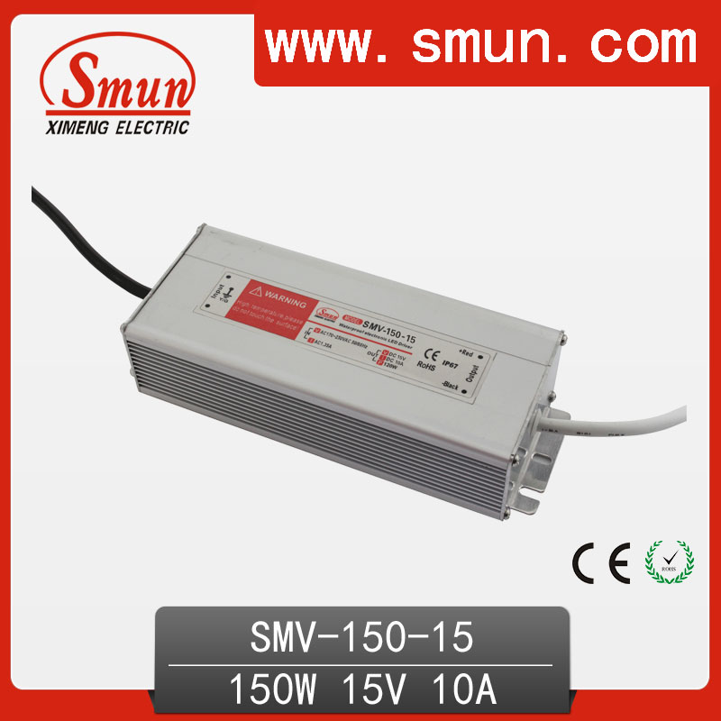 AC/DC LED Waterproof Single Output 150W 15V LED Driver