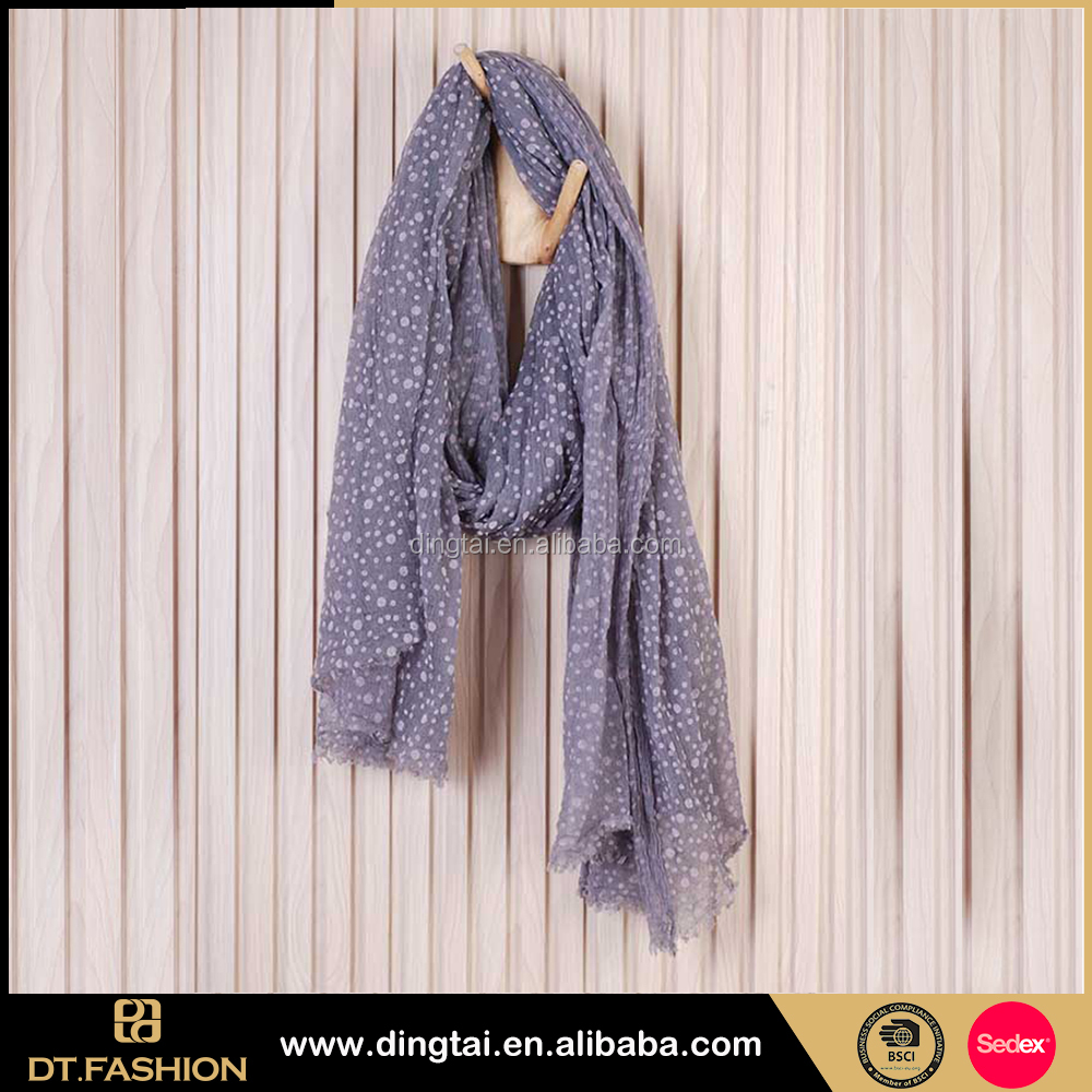 New styles fashion knitted winter shawl boiled wool scarf for sale