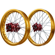 wholesale Dirt bike wheel set , motorcycle front and rear wheel , with wheel rim &wheel hub&spokes