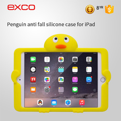 EXCO Minion case for ipad 2 3 4 Leather 360 Rotating for ipad 4 Case with Magnetic Auto sleep