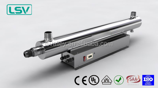 UV water filter and sterilizer for food process water treatment