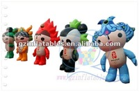 2012(QiLing) amusing hot-sale inflatable moving cartoon