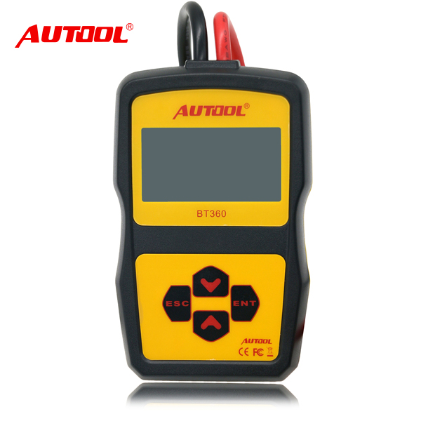 Portable 12V Auto Battery tester BT360 /Car Checker battery tool/Motorcycles Analyzer battery (BT360)