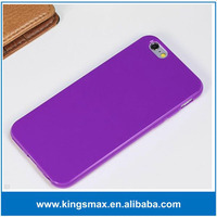 Wholesale Mobile phone case for iPhone 6 ,For iPhone 6 Jelly Soft TPU Case