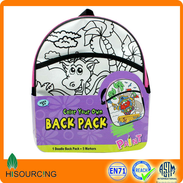 Most popular diy drawing bag for kids