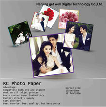 Noritsu D701 dry lab photo paper / RC photo paper / 240g 260g / Glossy/Satin/Pearl/Silky(woven)