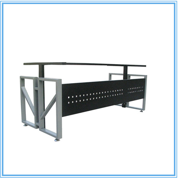 wrought iron table frame metal frame computer table