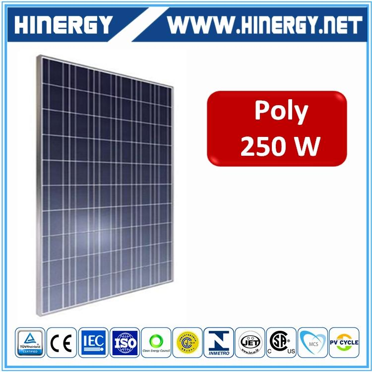 Hanwha Q CELLS 260w polycrystalline solar modules 250w sloar module for solar energy