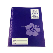 promotion primary cheque customized printing softcover exercise book printing write and wipe book