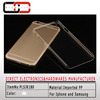 Wholesale high quality hard pp clear cheap plastic transparent mobile case For iPhone 5C/6 Plus/5/5s/4/4S/6