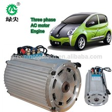 XYQ-5YV brush ac 5kw 34v variable frequency induction motor for electric car