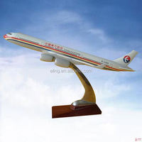 CUSTOMIZED LOGO RESIN MATERIAL antique plane model metal decorations