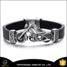 Wholesale plain leather bracelets personalized leather bracelets spanish leather bracelets