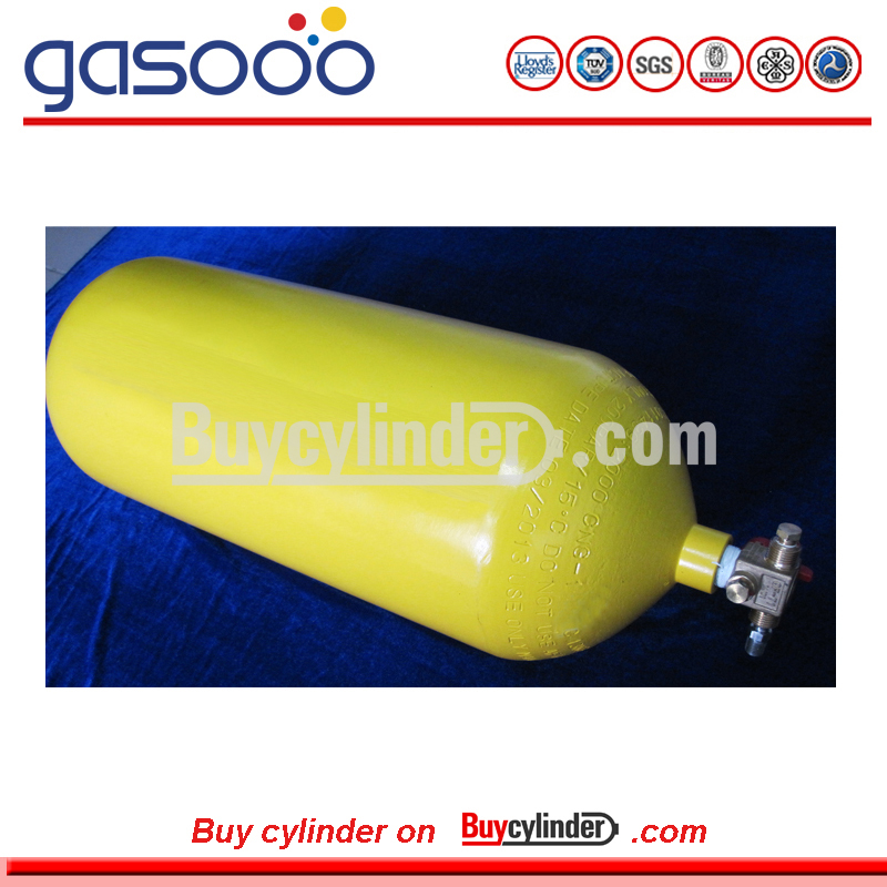 40L High Pressure Steel Type 1 CNG Cylinder Natural Gas Vehicles Cylinder