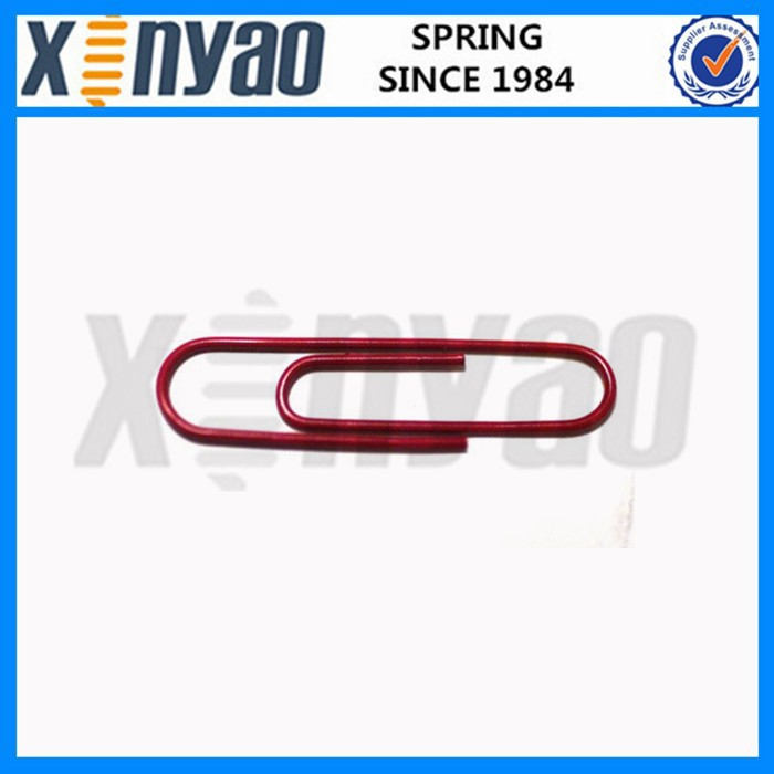 Red color Giant Paper Clips