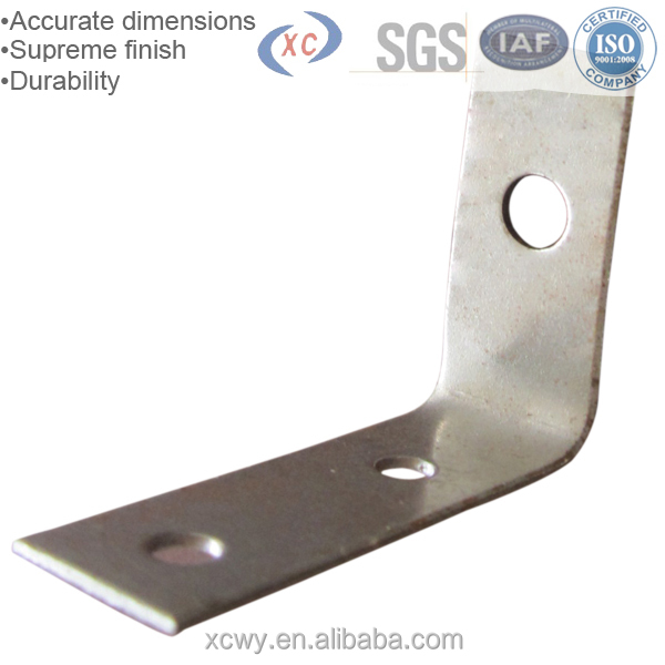 XCWY custom high quality metal stamping aluminum mounting bracket