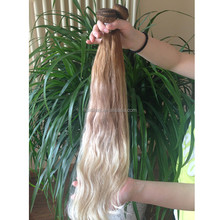 Best selling alibaba certified unprocessed cheap ombre darling hair products balayage weft