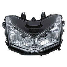 Headlight Head Light Frontlight Lamp Assembly For Kawasaki Z1000 2010-2011 New