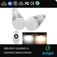 e27 led light bulb cool white warm white color temperature changing smart led light for bedroom light