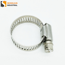 TJSJ stainless steel fabricated spiral american hose clamp