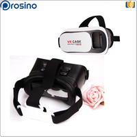 play 3d games and 3d videos .VR BOX New generation 3D glasses home theatre 3d movies glasses