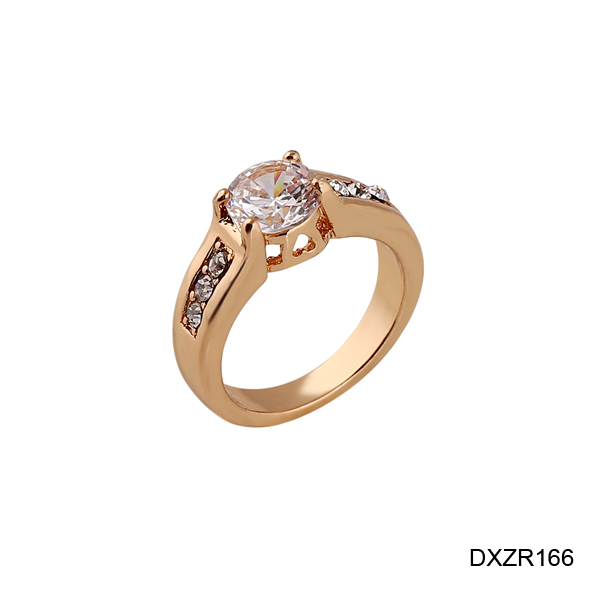 Alibaba Qualified Jewelry Manufacturer Newest CZ Setting Promise Sample Wedding Ring Designs