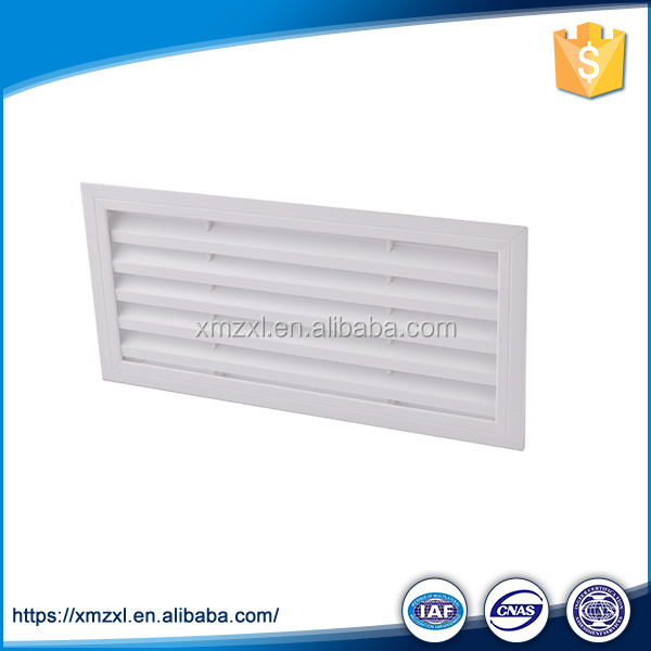 Aluminum Return Air Grille With Filter Incorporated