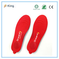 Dr.warm hot selling snowboard boot shoes insole for snow ski boot heating insoles