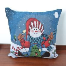 Vintage Christmas Pillow case Home Decor Cushion Pillow Cover Gift Idea