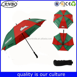 branding auto open double layer cheap outdoor golf chair umbrella