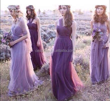 Elegant Beautiful Purple Sexy Bridesmaid Dress for Sexy Girls and Ladies