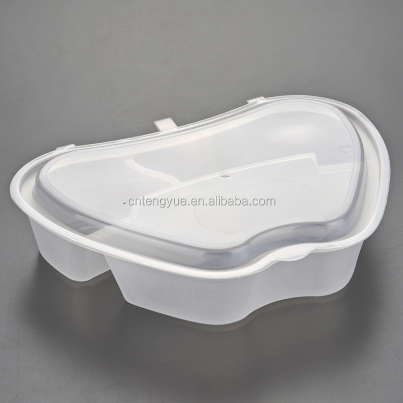 Uncommon design apple shape leakproof pp plastic take away food container