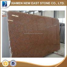 China leaf red G562 maple red granite slabs