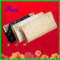 2015 important to recommend fashion PU leather wallet for ladies