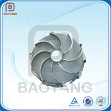 Customized A356 aluminum 5-axis milling impeller