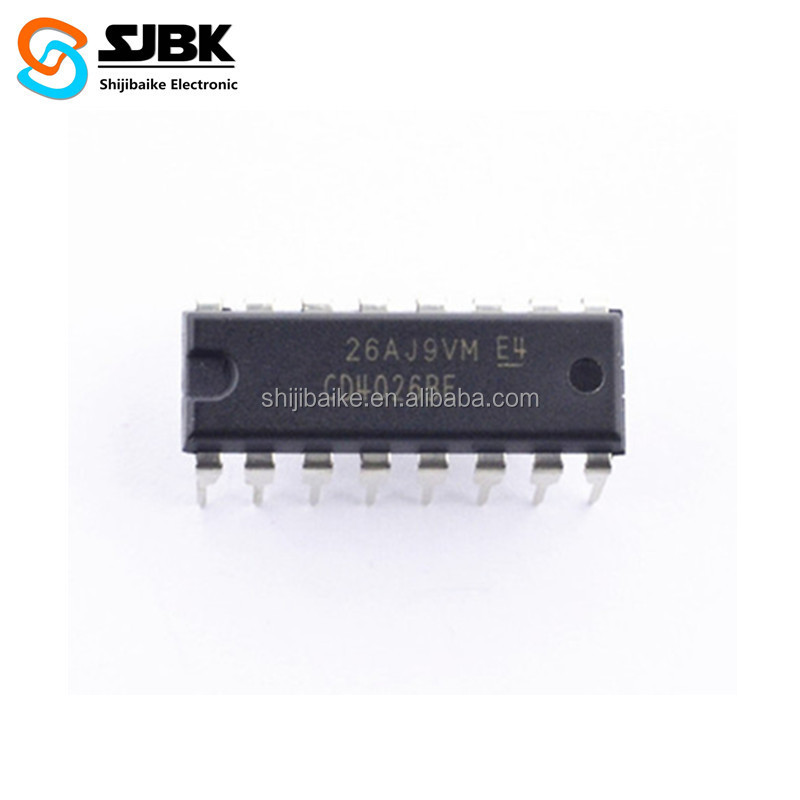 Active Components CD4026BE CMOS Decade Counters Dividers IC Chip