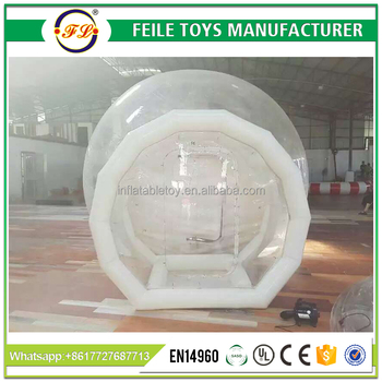2017 Popular inflatable clear bubble tent for sale
