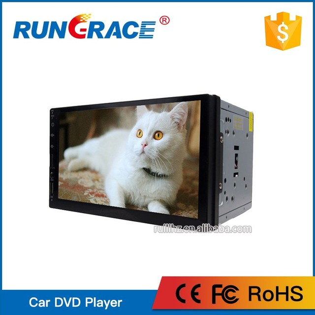 HuiZhou RUNGRACE 2 din car stereo bluetooth wifi mp4 player support OBD RDS