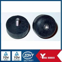 Rubber bumper with screw /rubber bumper feet with metal/furniture rubber bumper