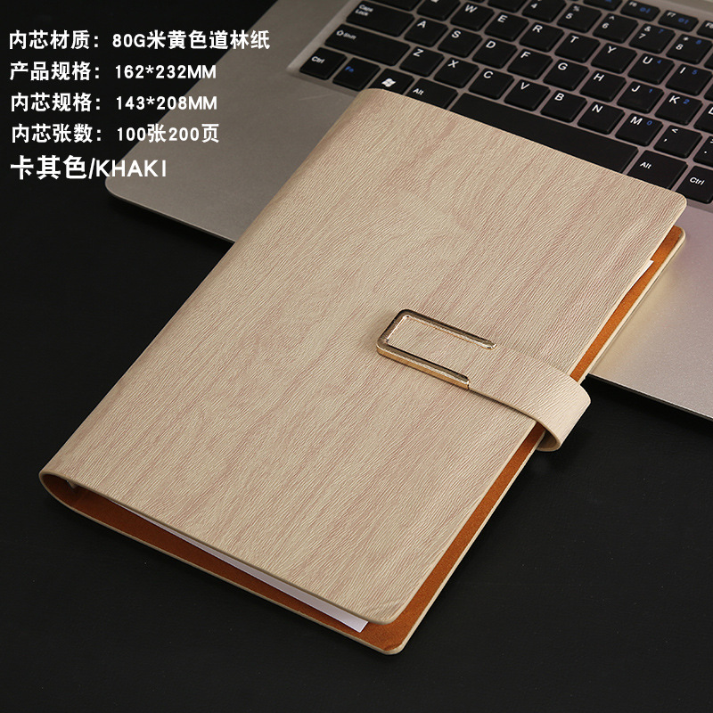 Custom High Quality Hardcover PU Leather Notebook