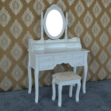 Top selling antique vanity height adjustable dressing table made in china