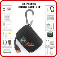 wholesale emergency kit custom camping emergency preparedness kit