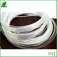 High conductivity electrical contact material pure silver wires