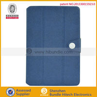 Brand new mobile phone spare parts flip fold case for ipad mini