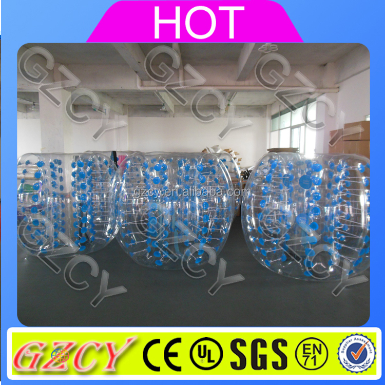 Colorful inflatable human body bubble ball crystal ball zorb ball