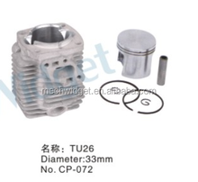 spare parts for brush cutter TU26 CYLINDER/PISTON ASSY(Diameter 33mm)