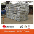 Galvanized Heavy Duty and Light duty Adjustable Steel Prop for the scaffolding parts and names