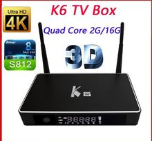 Videostrong K6 Metal case Android TV Box HDD SATA JACK Android OTT TV BOX