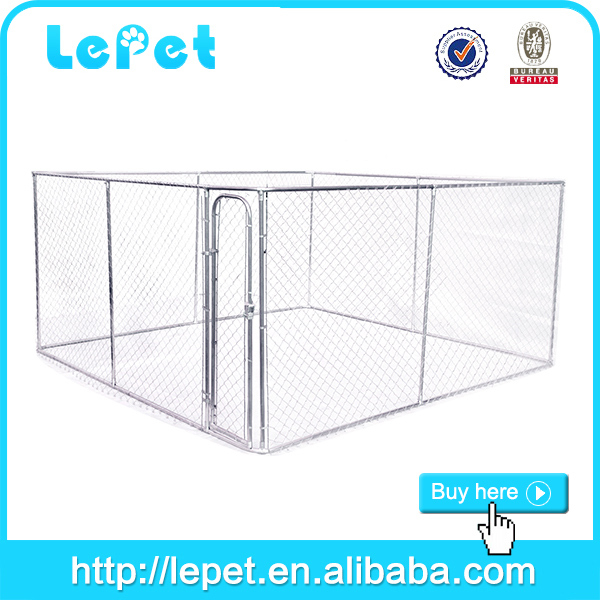 2016 wholesale iron cheap chain link large outdoor dog house cage
